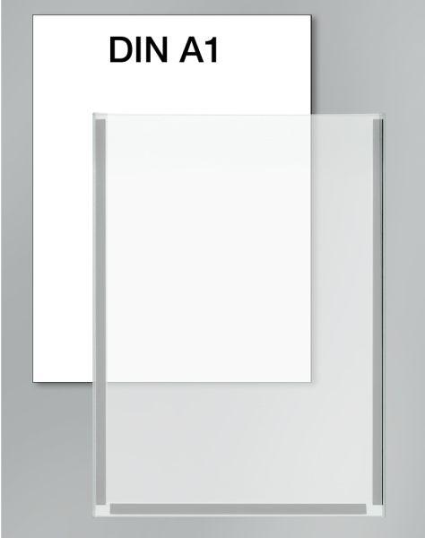 Plakattasche DIN A1 Breite 59,4 cm x Höhe 82 cm / Zubehör für Lochblech-Element KE-6966