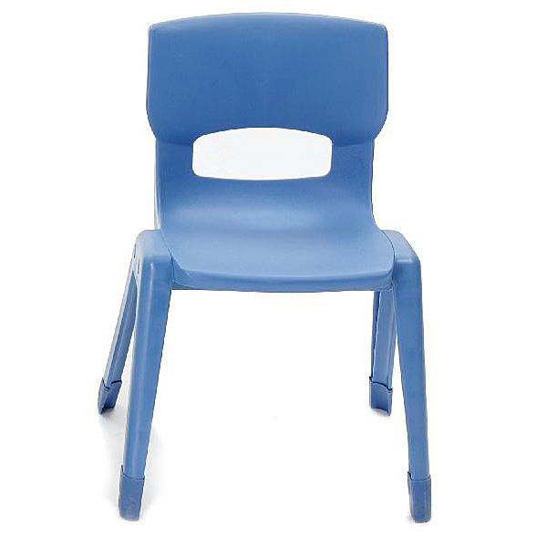 Mittlerer Stuhl, blau