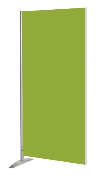 Sichtschutzwand Metropol, Holz-Element, geräuschblockierender Raumteiler, grün, B: 80 cm x H: 175 cm