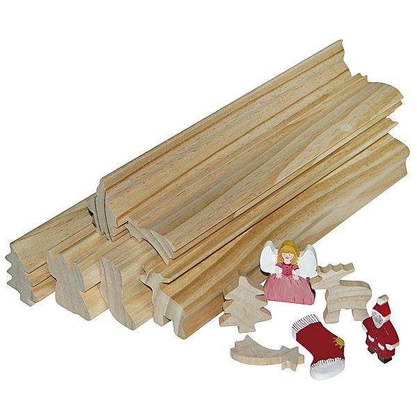 Profilholz Weihnachten 6er Set