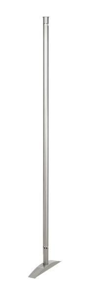 Präsentationswand Metropol, Abschlusssäule für das Ende einer Stellwandzeile Höhe 175 cm