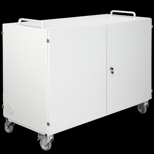 Laptopwagen mit 16 Einlegeböden, fahrbar