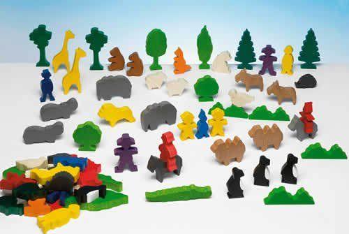 Zootiere Kindergartenpackung
