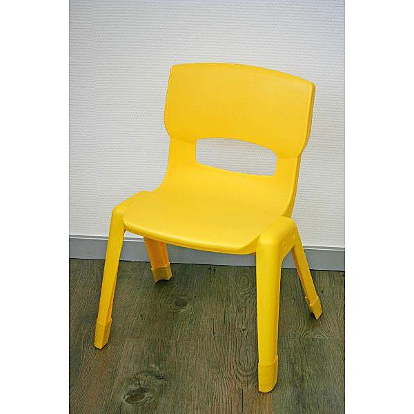 Großer Stuhl, gelb