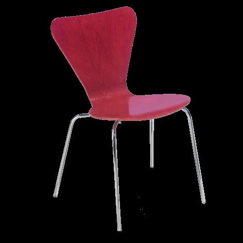 """Stuhl """"Julia"""" mit 4-Fuß-Gestell und Stapelschutz"""