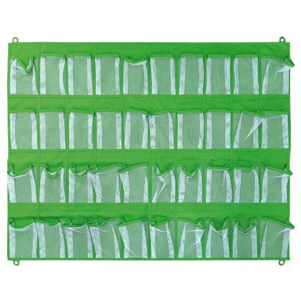 Wandorganizer 40 Taschen grün