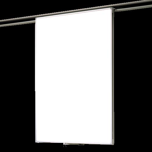 Whiteboard Einhängetafel für Media-Rail 2