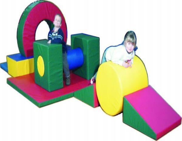 Schaumstoffelemente Sportline-Set 3, 11-teilige Bewegungsbaustelle Spielpolster