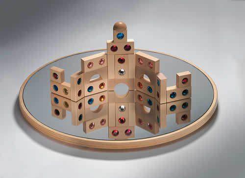 Bauspiegel rund