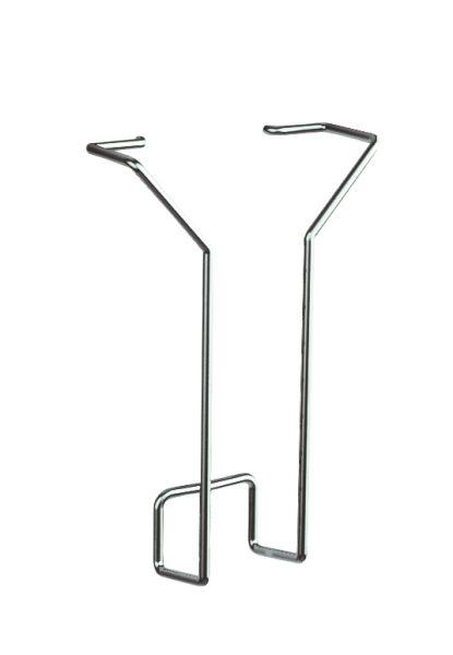 Prospektfach DIN lang Fülltiefe 33 mm / Zubehör für Lochblech-Element KE-6966