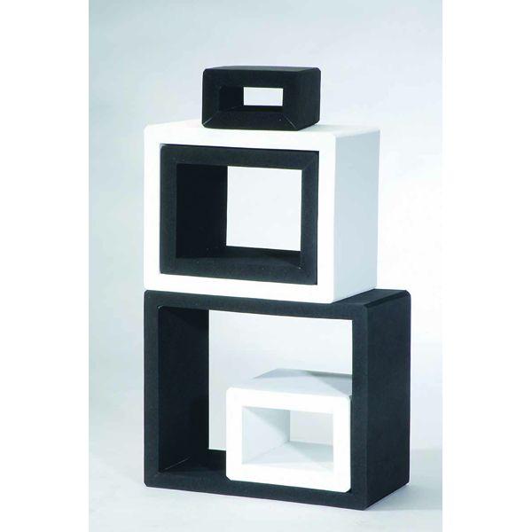 Kreativ-Rahmen black & white 5-tlg.