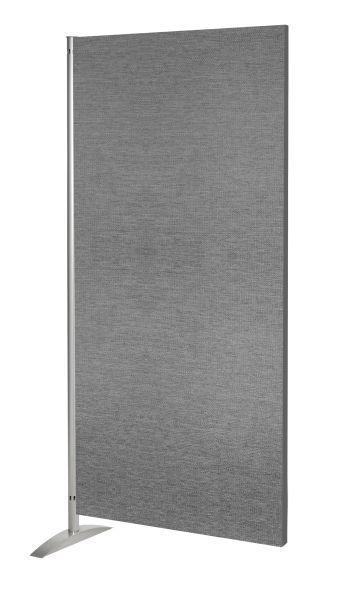 Sichtschutzwand Schallschutz Metropol, Textil-Element, grau, B: 80 cm x H: 175 cm